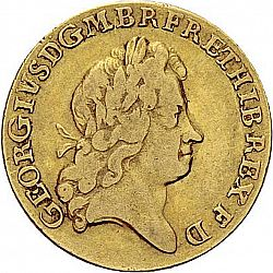 Large Obverse for Guinea 1726 coin