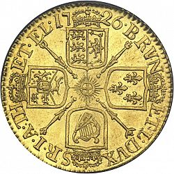 Large Reverse for Guinea 1726 coin