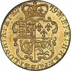 Large Reverse for Guinea 1779 coin