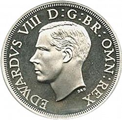 Large Obverse for Crown 1937 coin