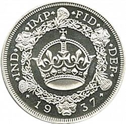 Large Reverse for Crown 1937 coin