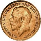 Large Obverse for Penny 1920 coin