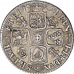 Large Reverse for Shilling 1725 coin