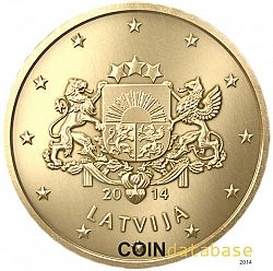 10 cent 2014 Large Obverse coin