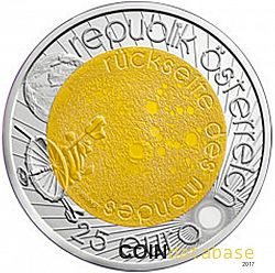 25 Euro 2009 Large Obverse coin