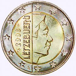2 euro from year 2008 luxembourg euros the coin database. Black Bedroom Furniture Sets. Home Design Ideas