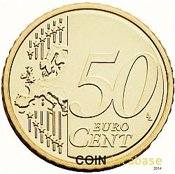 50 cents 2013 Large Reverse coin