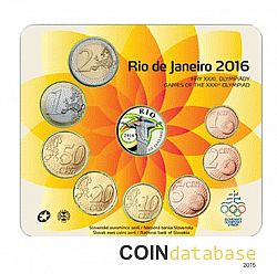Set 2016 Large Reverse coin