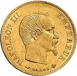 10 Francs from 1856 - FRANCE 1852-1870 - Napoléon III - The