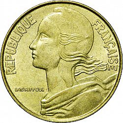 Large Obverse for 20 Centimes 1994 coin