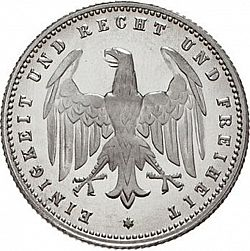 Large Reverse for 200 Mark 1923 coin