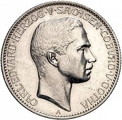 Large Obverse for 2 Mark 1905 coin