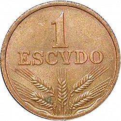 KM597 Portugal 1979 1 Escudo Uncirculated