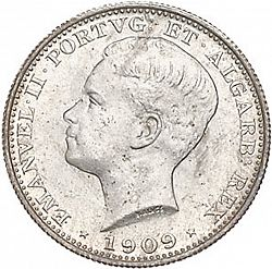 Large Obverse for 200 Réis 1909 coin