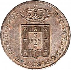 Large Obverse for 40 Réis 1828 coin