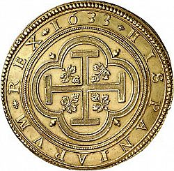 Large Reverse for 100 Escudos 1633 coin