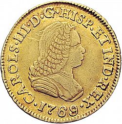 Large Obverse for 1 Escudo 1769 coin