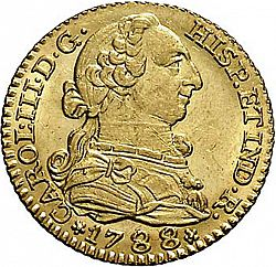 Large Obverse for 1 Escudo 1788 coin