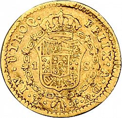 Large Reverse for 1 Escudo 1786 coin