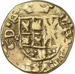 Large Obverse for 1 Escudo 1742 coin