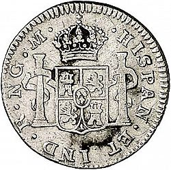 Large Reverse for 1 Real 1794 coin
