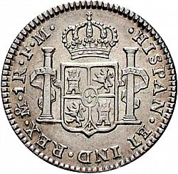 Large Reverse for 1 Real 1799 coin