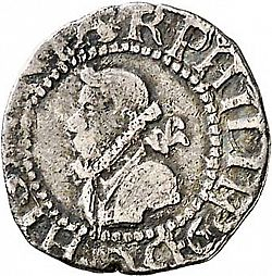Large Obverse for 1/2 Croat 1611 coin