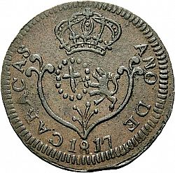 Large Obverse for 1 Quarto 1817 coin