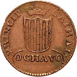 Large Reverse for 1 Ochavo 1813 coin