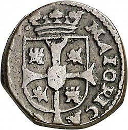 Large Reverse for 1 Seiseno 1724 coin