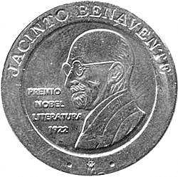 Large Obverse for 200 Pesetas 1997 coin