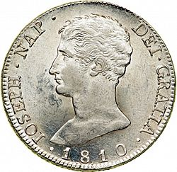 Large Obverse for 20 Reales 1810 coin