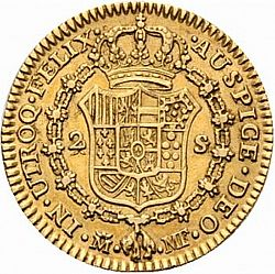 Large Reverse for 2 Escudos 1798 coin