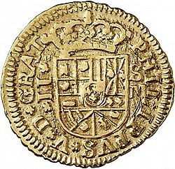 Large Obverse for 2 Escudos 1718 coin