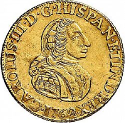 Large Obverse for 4 Escudos 1762 coin