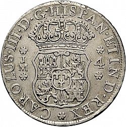 Large Obverse for 4 Reales 1772 coin