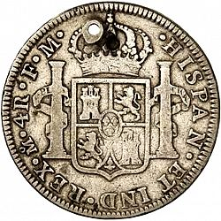 Large Reverse for 4 Reales 1790 coin