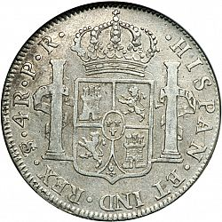 Large Reverse for 4 Reales 1794 coin