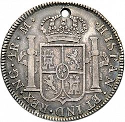 Large Reverse for 4 Reales 1799 coin