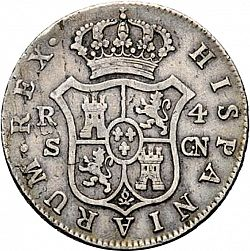 Large Reverse for 4 Reales 1803 coin