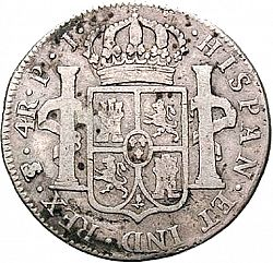 Large Reverse for 4 Reales 1806 coin