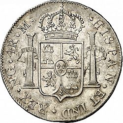 Large Reverse for 4 Reales 1815 coin