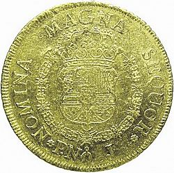 Large Reverse for 8 Escudos 1767 coin