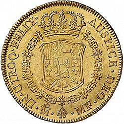 Large Reverse for 8 Escudos 1771 coin