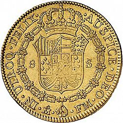 Large Reverse for 8 Escudos 1794 coin