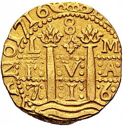 Large Obverse for 8 Escudos 1716 coin