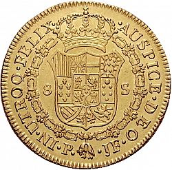 Large Reverse for 8 Escudos 1815 coin
