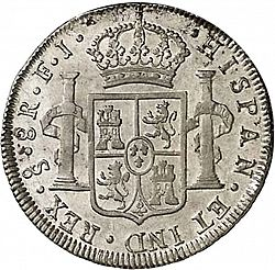 Large Reverse for 8 Reales 1803 coin