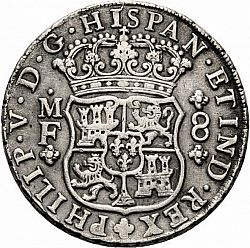 Large Obverse for 8 Reales 1746 coin