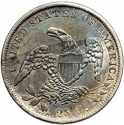 quarter 1838 Large Reverse coin